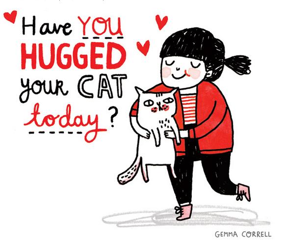 gemma-correll-hug-cat